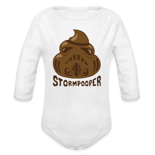 Stormpooper - Organic Longsleeve Baby Bodysuit