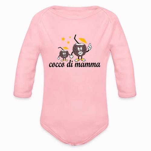 cocco di mamma - Body ecologico per neonato a manica lunga