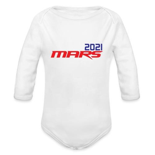 Mars 2021 - Body orgánico de manga larga para bebé