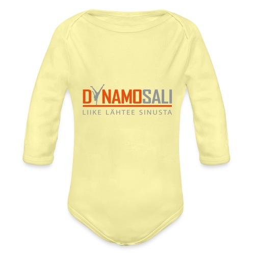 DynamoSALI_logo - Vauvan pitkähihainen luomu-body
