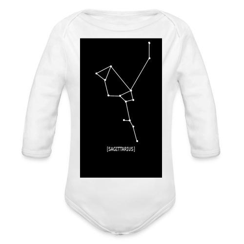 SAGITTARIUS EDIT - Organic Longsleeve Baby Bodysuit