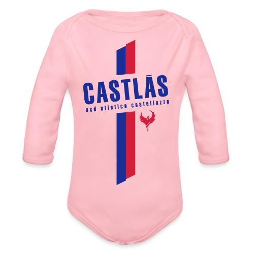 CASTLAS - Body ecologico per neonato a manica lunga