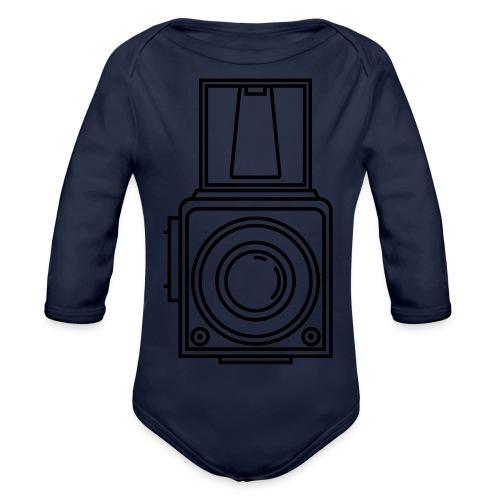 hasselblad 1600 - Organic Longsleeve Baby Bodysuit