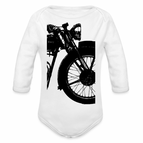speed twin - Organic Longsleeve Baby Bodysuit