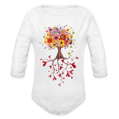 Das Streben nach Glück - Baby Bio-Langarm-Body