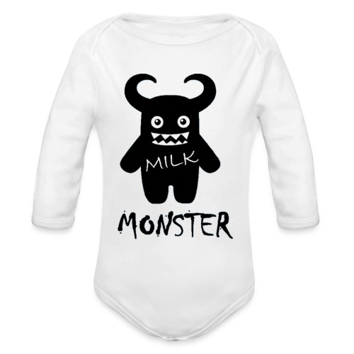 Milk Monster - Organic Longsleeve Baby Bodysuit