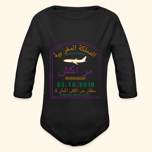 marrakeche - Body Bébé bio manches longues