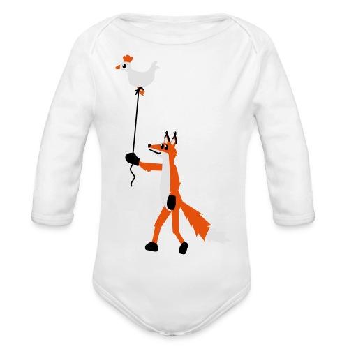 Fuchs und Henne - Baby Bio-Langarm-Body