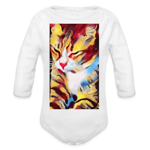 Streetcat Honey - Baby Bio-Langarm-Body