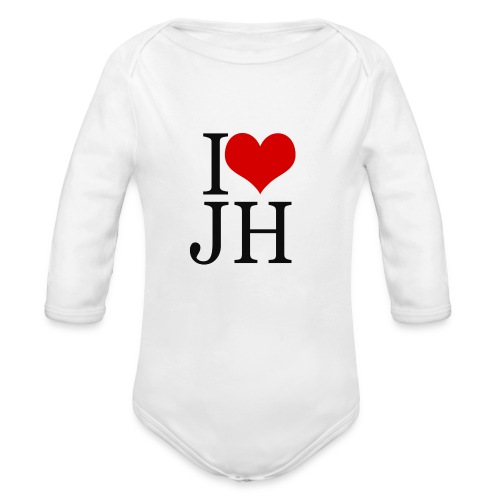 I Love JH 2 - Body Bébé bio manches longues