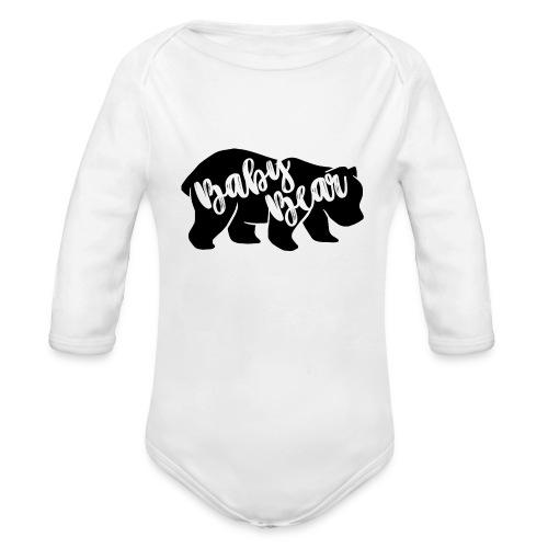Baby Bear - für Eltern-Baby-Partnerlook - Baby Bio-Langarm-Body