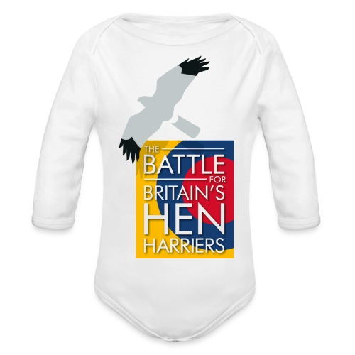 New for 2017 - Women's Hen Harrier Day T-shirt - Organic Longsleeve Baby Bodysuit
