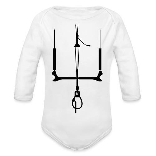 kitebar_gallovenezia_unic - Body ecologico per neonato a manica lunga