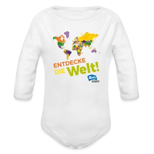 Entdecke die Vielfalt der Welt mit AFS - Baby Bio-Langarm-Body