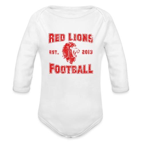 Football Vintage - Baby Bio-Langarm-Body