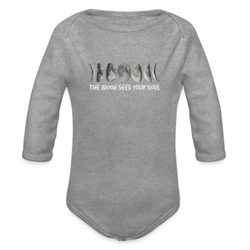 MOON - Organic Longsleeve Baby Bodysuit