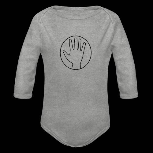 Helping Hand - Vauvan pitkähihainen luomu-body