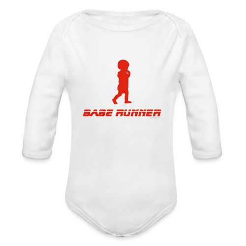 Babe Runner - Body Bébé bio manches longues