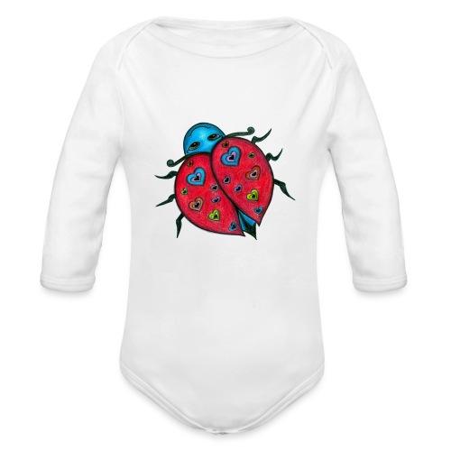TLBD Trans png - Organic Longsleeve Baby Bodysuit