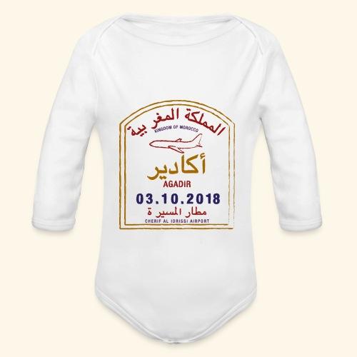 Agadir - Body Bébé bio manches longues