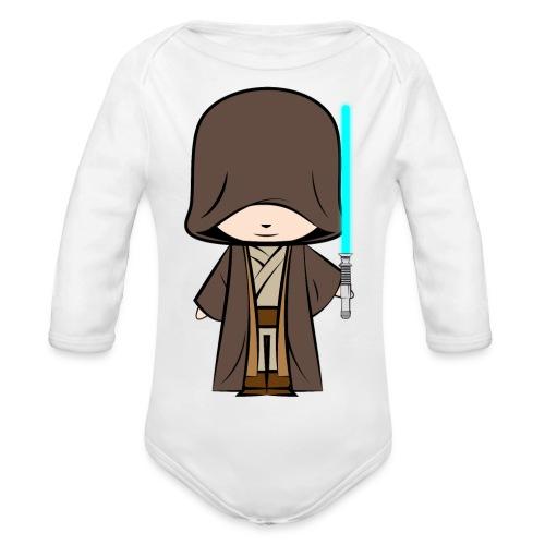 Jedi_Generique - Body Bébé bio manches longues