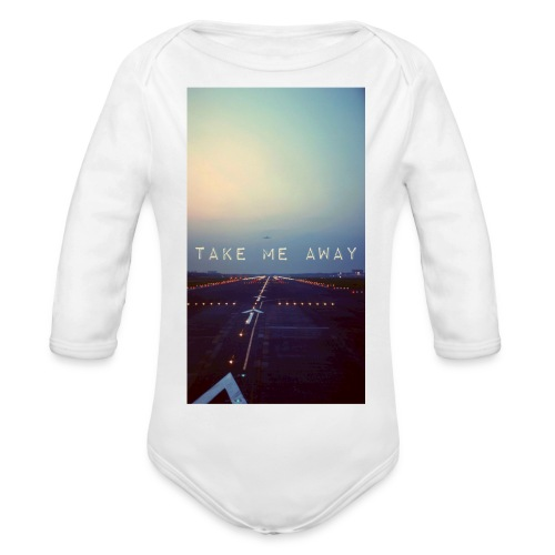Take me away - Ekologisk långärmad babybody