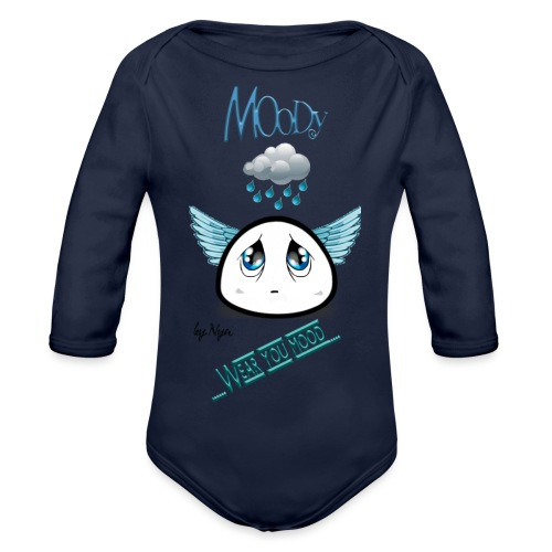 MOODY ANGEL - Body ecologico per neonato a manica lunga