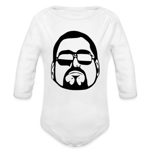 cool guy - Baby bio-rompertje met lange mouwen