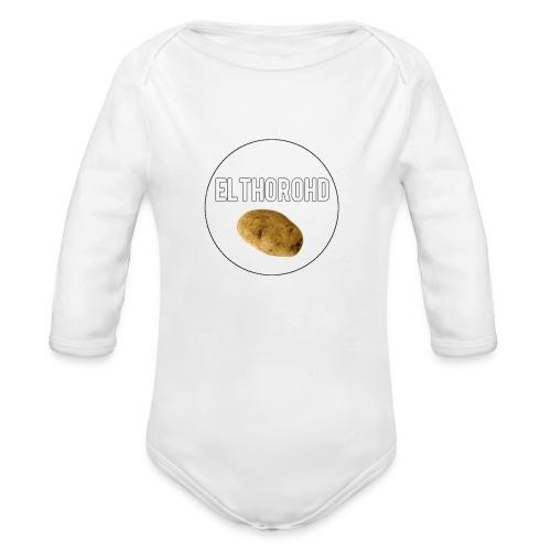 ElthoroHD trøje - Langærmet babybody, økologisk bomuld