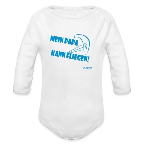 PapaKann - Baby Bio-Langarm-Body
