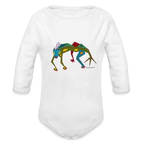 Salmi der zackige Drachen - Baby Bio-Langarm-Body