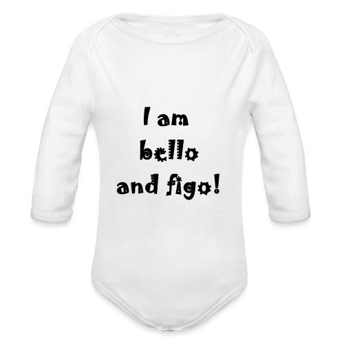 Bello and Figo - Organic Longsleeve Baby Bodysuit