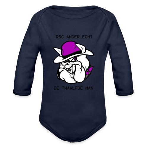 T-shirt D12M - Baby bio-rompertje met lange mouwen