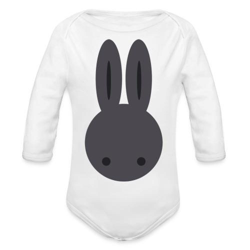 Baby Bunny - Organic Longsleeve Baby Bodysuit