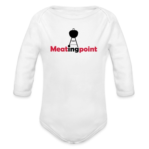 Meatingpoint Grill - Baby Bio-Langarm-Body