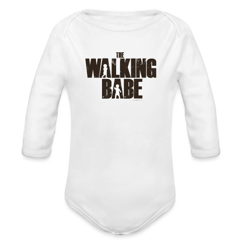 The Walking Babe - Body Bébé bio manches longues