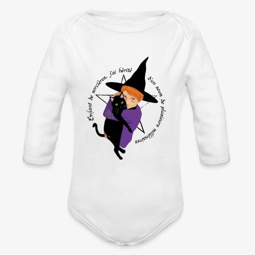 Enfant de sorcières - Body Bébé bio manches longues