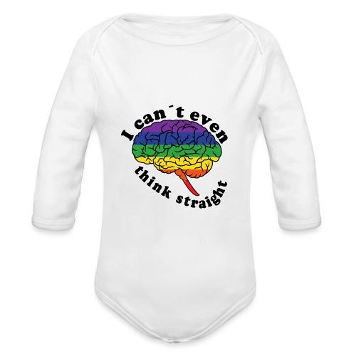 Ich kann nicht einmal klar denken | LGBT - Baby Bio-Langarm-Body