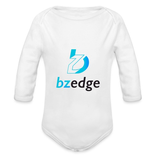 BZEdge Cutting Edge Crypto - Organic Longsleeve Baby Bodysuit