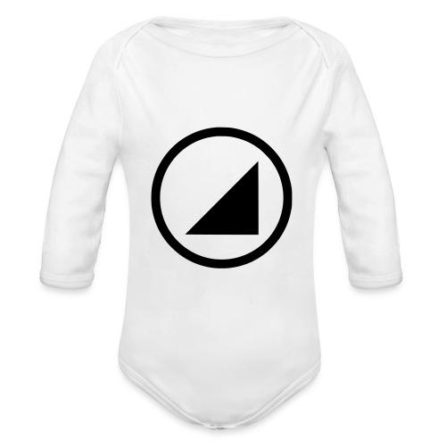 bulgebull dark brand - Organic Longsleeve Baby Bodysuit