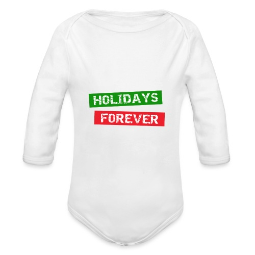 holidays forever - Baby Bio-Langarm-Body
