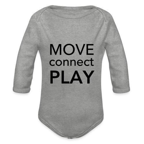 Move Connect Play - AcroYoga International - Organic Longsleeve Baby Bodysuit