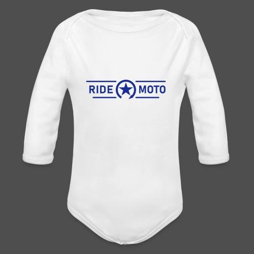 logo moto kill logo - Ekologiczne body niemowlęce z długim rękawem
