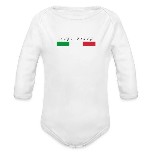 Info Italy Design - Body ecologico per neonato a manica lunga