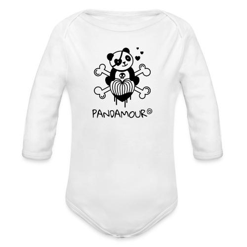 PANDAMOUR - Body Bébé bio manches longues