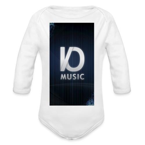 iphone6plus iomusic jpg - Organic Longsleeve Baby Bodysuit