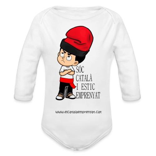 Català Emprenyat - Body orgánico de manga larga para bebé