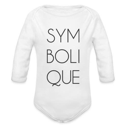 Symbolique - Body Bébé bio manches longues