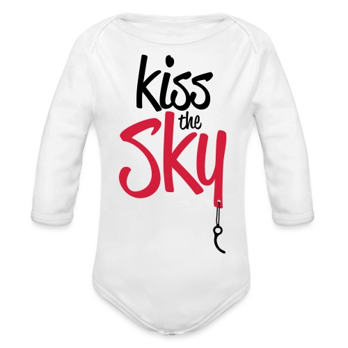 Kiss the Sky - Baby Bio-Langarm-Body