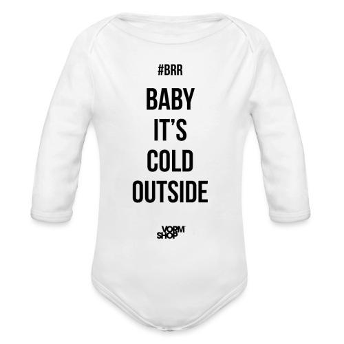 Cold Outside ROMPER - Baby bio-rompertje met lange mouwen
